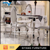 Wholesale 6 Chair Stainless Steel Dining Table