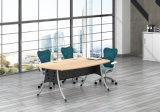 White Customized Metal Steel Office Conference Table Frame with Ht12-3
