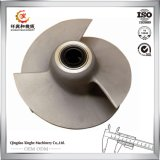 Custom Casting Water Pump Impeller 316 Steel Casting Impeller