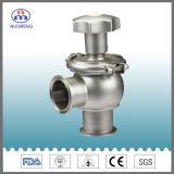 Sanitary Stainless Steel Manual Clamped Regulating Valve