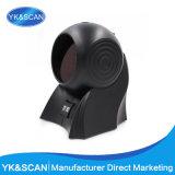 Yk-8120 RS232 Desktop Laser Barcode Scanner with 20 Lines