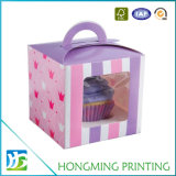 PVC Window Paper Cardboard Cake Boxes