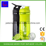 Compact Low Price Water Bottle Cheap Shaker Bottle Protein with Metal Ball Mixer