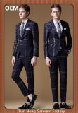 Men′s Suits with Tr Fabric Slim Fit Style