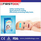 Chinese Natural Herbal Baby Fever Cooling Gel Patch Manufacturers