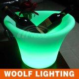 LED Lighting Flower Pot & Used Bar /KTV Outdoor Flower Pot