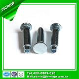 Factory Customized Made Zinc Plated Steel Flat Head Rivet