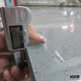 Kingkonree Engineered Grey Sparkle Quartz Stone Slab