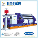 Manual or Mechanical or Hydraulic Three Roller Asymmetrical Steel Metal Plate Rolling Machine