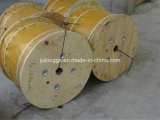 Ungalv. Steel Wire Rope, Wire Rope for Elevator 8*19s+FC