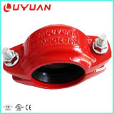 """Grooved Pipe Clamp with EPDM Gasket 2"""""""