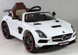 Benz Licensed Ride on Car with Leather Seat and Painting