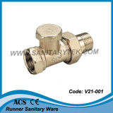 Straight Lockshield Radiator Valve (V21-001)