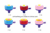 Alloy Bicycle Mini Bell with Flower (HEL-221)