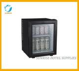 28L Capacity Glass Door Minibar for Hotel