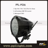 Wireless DMX 512 9PCS Waterproof LED PAR Light