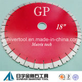 "Gp 18""*25mm Diamond Cutting Discs, Diamond Blades for Granite, Quartzite"