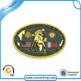 Made in China Custom Plastic Lapel Pin with Tinplate