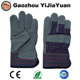 Cow Split Leather Work Glove with Ce En388