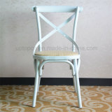 Classic French Bistro Metal Cross Back Chair (SP-MC059)