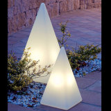 Street Decoration Pyramid Illuminated Outdoor Lamp