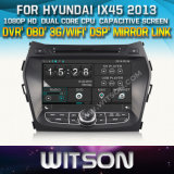 Witson Car DVD Player with GPS for Hyundai IX45 (W2-D8266Y) CD Copy with Capacitive Screen Bluntooth 3G WiFi OBD DSP