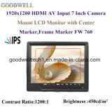 1920X1200 IPS Panel 7 Inch TFT LCD Monitor
