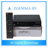 HD DVB T2 DVB S2 DVB C with Bcm73625 Zgemma H5 Support Hevc