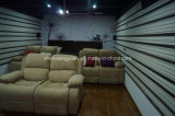 Living Room Salon Microfiber Sofa 2 Seater with Double Recliner