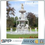 China Hot Sale White Marble/Granite Fountain Water Fountain for Backyard