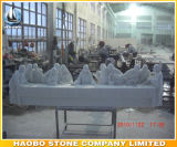 Hand Carved The Last Supper Marble Statue
