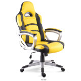 Modern Steelcase Swivel Learher Office Chair