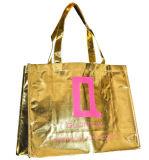 Metallic Laminated Shopper Bag