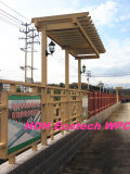 Huasu WPC Plant Eco Friendly Rpl Pergola Fencing Material