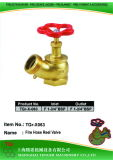 "Pressure Reduce Angle Hydrant Valve: F 1-3/4""Bsp=1-3/4""Bsp"