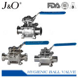 Sanitary Manufacturer High Purity Encapsulated Seal Stainless Steel Ball Valve