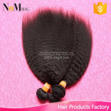 9A Grade High Quality Unprocessed Yaki Virgin Malaysian Kinky Straight Hair Weave