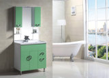 Green White PVC Bathroom Furniture (9032)