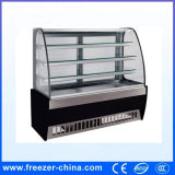 China Made Upright Marble Bakery Refrigerator Cabinet