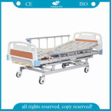 Three Functions Manual Hand Operate Hospital Bed (AG-BMS003)