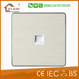 British Style RJ45 Data Wall Socket Outlet