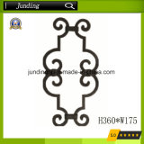Wrought Iron Panels Casting Iron Scroll Chinese Manufacturer