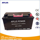 Special Design of Impact-Proof Mf Auto Battery 58821 12V88ah DIN88