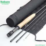 Eco 8FT6in 4PC 5wt Wooden Reel Seat Moderate Action Fly Fishing Rod