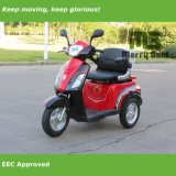 500W Three Wheel Electric Mobility Handicapped Scooter for Sale