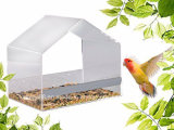Wholesale Crystal Clear Acrylic Bird House