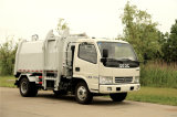 3t Side Loading Garbage Truck with Isuzu Chassis