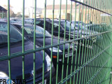 PVC Coated Double Wire Welded Steel Fence