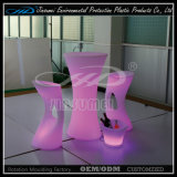 PE Material LED Fashion Chair Plastic Furniture