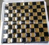 Black Mix Gold Tile Mirror Glass Mosaic (HD093)